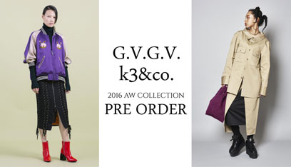 2016 Autumn Winter Collection PRE ORDER