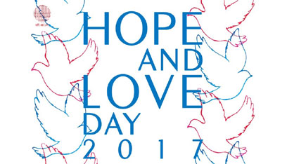 HOPE & LOVE DAY 2017