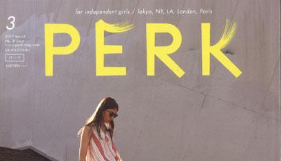【雑誌掲載】PERK MAR ISSUE